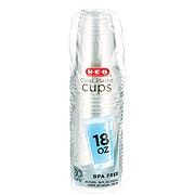 H-E-B 18 oz Clear Plastic Cups