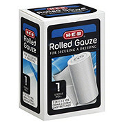 H-E-B 2 Inch Sterile Rolled Gauze