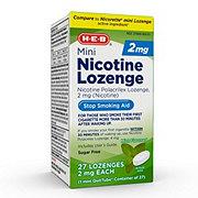 H-E-B 2 mg Mini Nicotine Lozenge