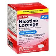 H-E-B 2 mg Nicotine Lozenge