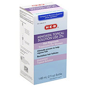 H-E-B 2% Unscented Minoxidil  For Women