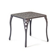 H-E-B 20 Inch Riata III Square Side Table