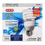 H-E-B 23W CFL T2e Micro Bright White Light Bulbs