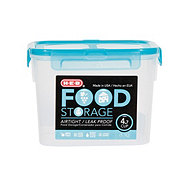 H-E-B 4.7 Cup Airtight Leak Proof Food Storage Container with Turquoise Lid