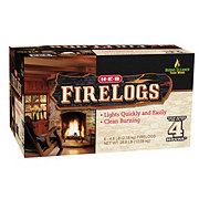 H-E-B 4 Hour Firelogs