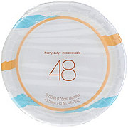 H-E-B 7 in Printed Paper Plates