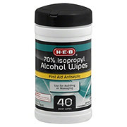 H-E-B 70% Isopropyl Alcohol Wipes