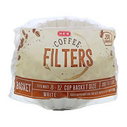 H-E-B 8-12 Cup Basker Filters White