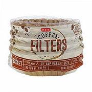 H-E-B 8-12 Cup Basket Filter Natural