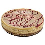 """H-E-B 8"""" Strawberries and Cream Cheesecake"""