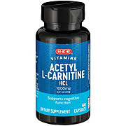 H-E-B Acetyl L-Carnitine HC1 1000mg Capsules