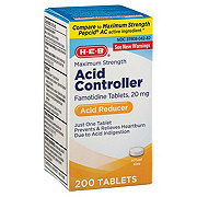 H-E-B Acid Controller 20MG Tablets