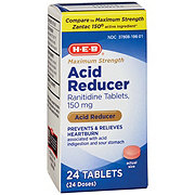 H-E-B Acid Reducer Maximum Strength, 150 mg Tablets