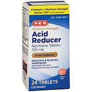 H-E-B Acid Reducer Maximum Strength, 150 mg Tablets
