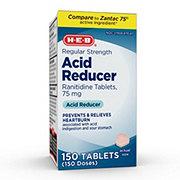 H-E-B Acid Reducer Ranitidine 75 mg Tablets