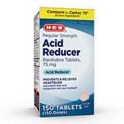 H-E-B Acid Reducer Ranitidine 75mg Tablets
