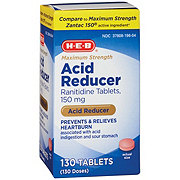 H-E-B Acid Reducer Tablets
