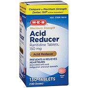 H-E-B Acid Reducer Tablets