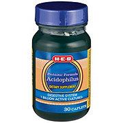 H-E-B Acidophilus Probiotic Formula Caplets