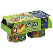 H-E-B Active Cultures Fat Free Strawberry Banana Yogurt