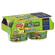 H-E-B Active Fat Free Vanilla Yogurt