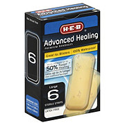 H-E-B Advance Healing Waterproof Large Strips