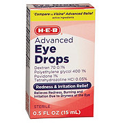 H-E-B Advanced Relief Eye Drops