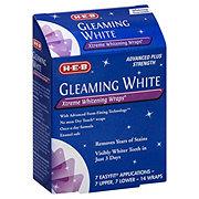 H-E-B Advanced Strength Extreme Whitening Wraps