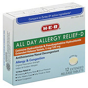 H-E-B All Day Allergy RelieF-D