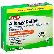 H-E-B All Day Allergy Relief Tablets
