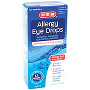 H-E-B Allergy Prescription Strength Eye Drops