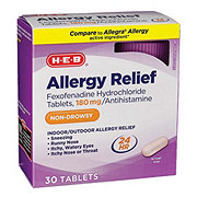 H-E-B Allergy Relief Fexofenadine 180 mg Tablets