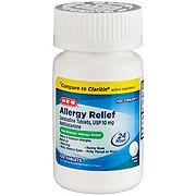 H-E-B Allergy Relief Loratadine 10 mg Tablets