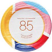 H-E-B Annual Paper Plate, 10 inch