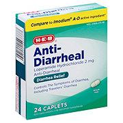 H-E-B Anti-Diarrheal 10 mg Caplets