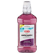 H-E-B Anticavity Mouth Rinse, Mint