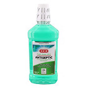 H-E-B Antiseptic Fresh Green Mint Mouth Rinse