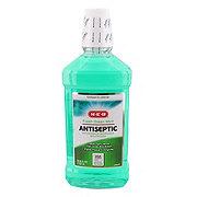 H-E-B Antiseptic Fresh Green Mint Mouth Rinse