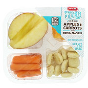 H-E-B Apple and Cheese Bites with Crackers