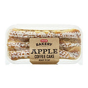 H-E-B Apple Coffee Cake