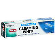 H-E-B Arctic Cool Mint Gleaming White Toothpaste