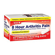 H-E-B Arthritis Pain Relief Acetaminophen 650 mg Caplets