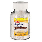 H-E-B Aspirin 325 Mg Coated Tablets