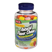 H-E-B Assorted Fruit Antacid Flavor Chews