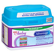 H-E-B Baby Advantage Infant Formula (0-12 Months)