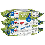 H-E-B Baby Blooming Bluebonnets Wipes 3 pk
