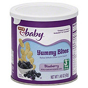 H-E-B Baby Blueberry Yummy Bites
