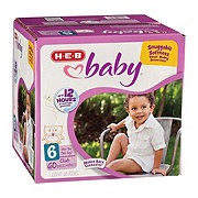 H-E-B Baby Club Pack Diapers, 60 ct