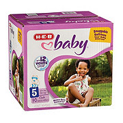 H-E-B Baby Club Pack Diapers 70 ct