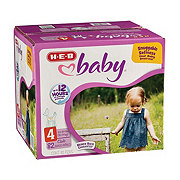 H-E-B Baby Club Pack Diapers 82 ct